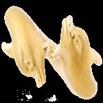 カレライカレライルカモチーフリング18金