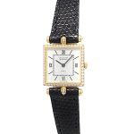 腕時計 クラシック スクエア SM ダイヤベゼル K18無垢