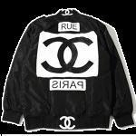 ロゴフライトジャケット