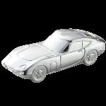 スケール インゴットミニカー 2000GT(シルバー仕上)