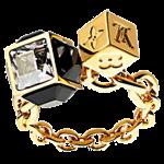 ルイヴィトンリング指輪M61124バーグギャンブル