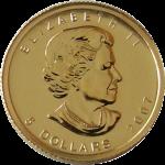 メイプルリーフ金貨110oz(オンス)