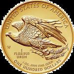 アメリカ2015年ダブルイーグルウルトラハイレリーフ金貨100ドル金貨