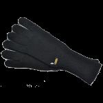 バーバリーブルーレーベルBURBERRYBLUELABELロング手袋黒ブラック