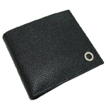 ブルガリ 財布 メンズ ブルガリブルガリ 二つ折り財布 30396 ブラック 本革