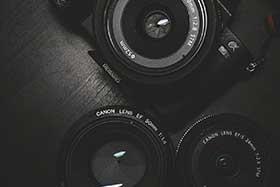 カメラ、レンズ