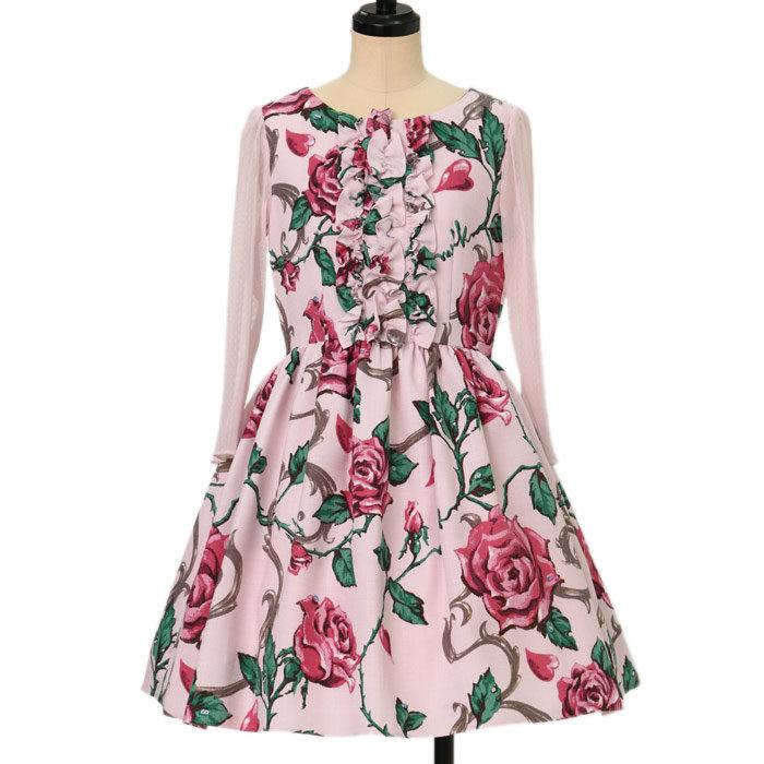 ロージーローズドレス