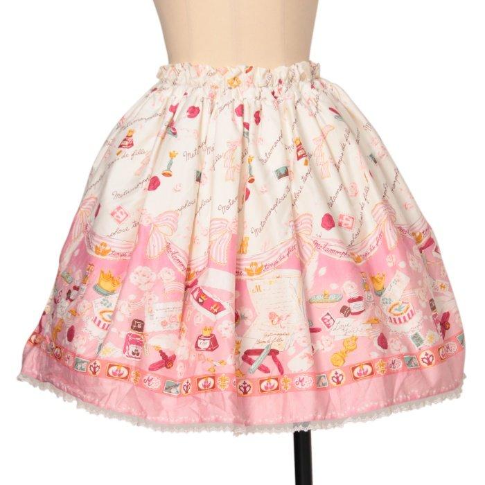 Rose Letter ミニスカート
