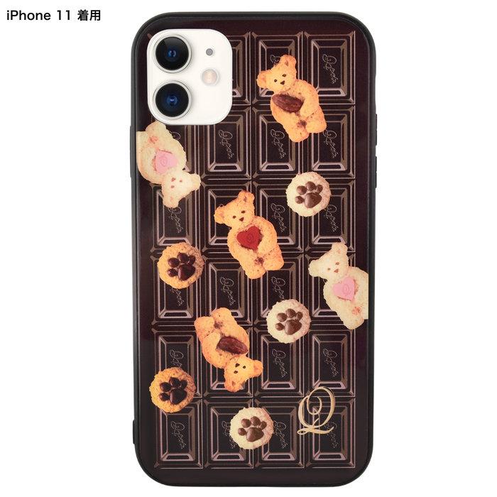 iPhone11 ハードガラスケース
